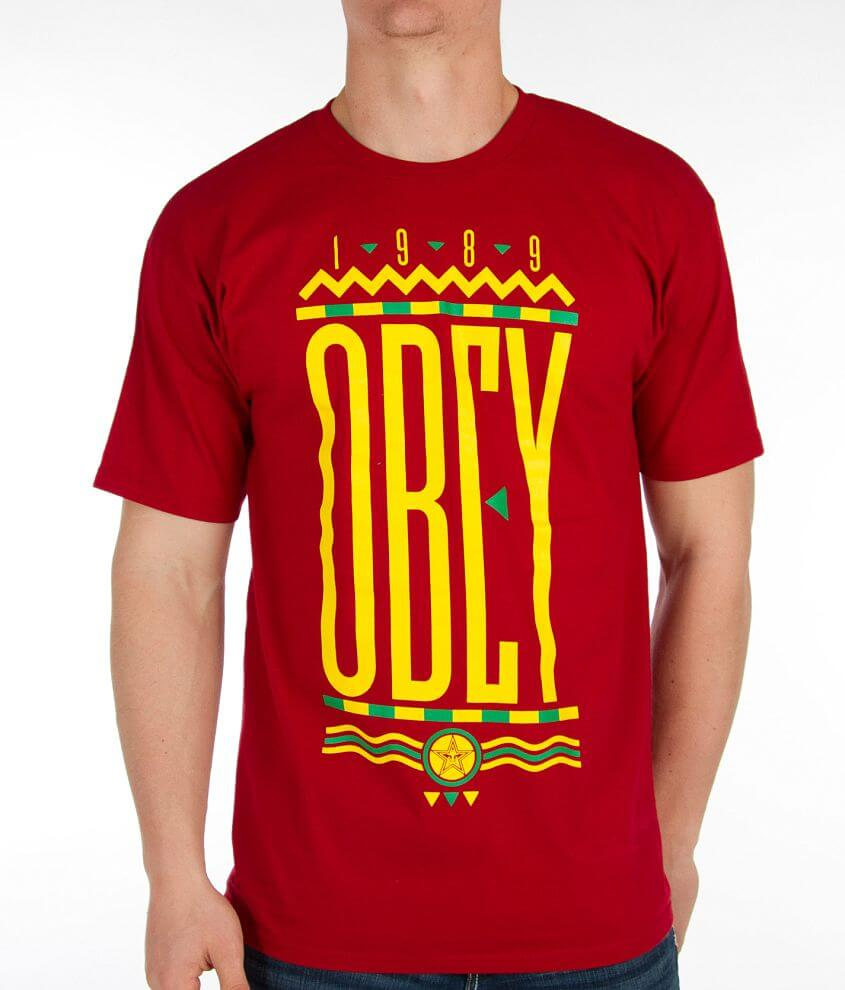 OBEY Colours T-Shirt front view