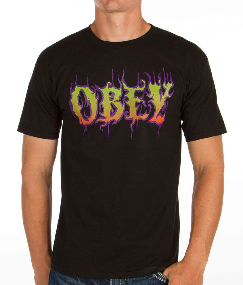 OBEY Filth T-Shirt front view