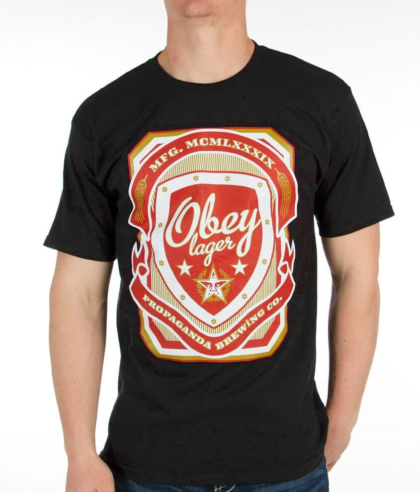 OBEY Brewing T-Shirt front view