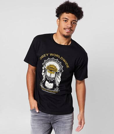 OBEY Knowledge + Action=Power T-Shirt