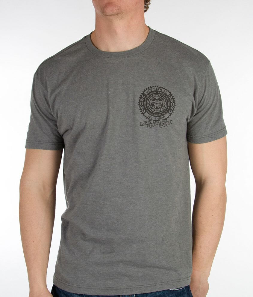 OBEY Machinist T-Shirt front view