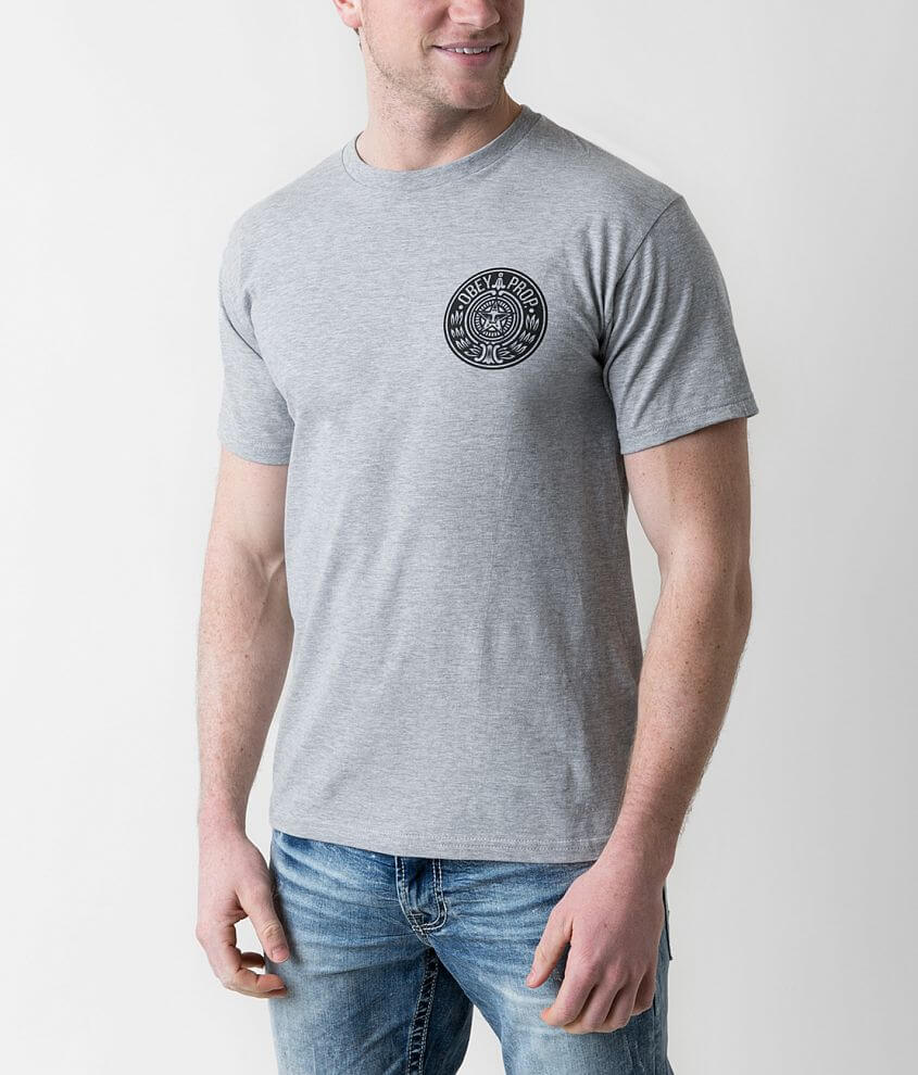 OBEY Circular Wreath T-Shirt front view
