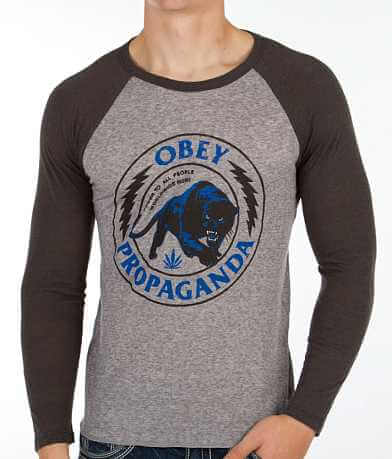 OBEY Panther Militia T-Shirt