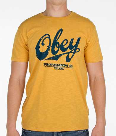 OBEY Classic Script T-Shirt