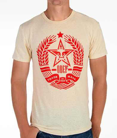 OBEY Star Crest T-Shirt