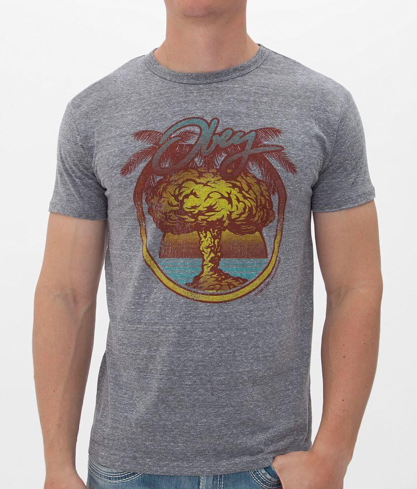 OBEY Nuclear Summer T-Shirt front view