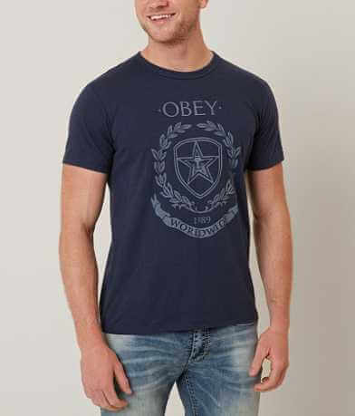 OBEY Shield & Wreath T-Shirt