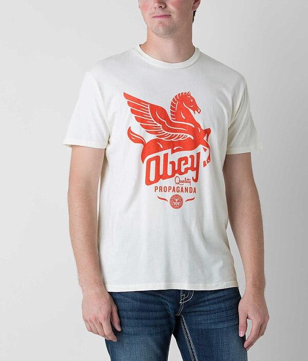 OBEY Shirt Pegasus Pegasus T Shirt T OBEY xpIzI5wt