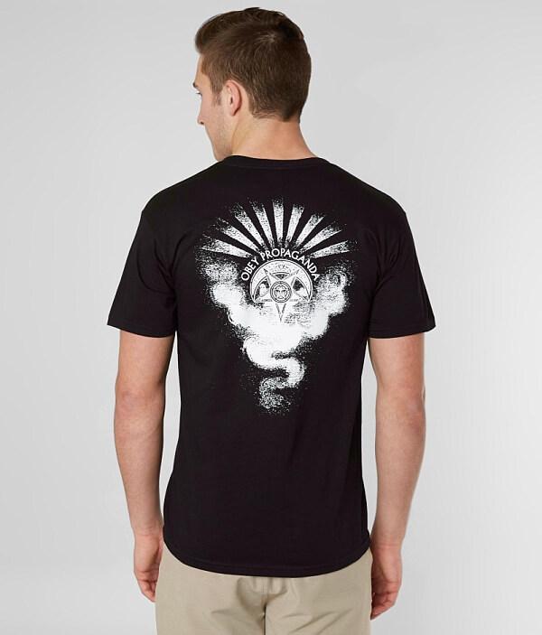 T of Cult Dark Shirt OBEY wBTtqx