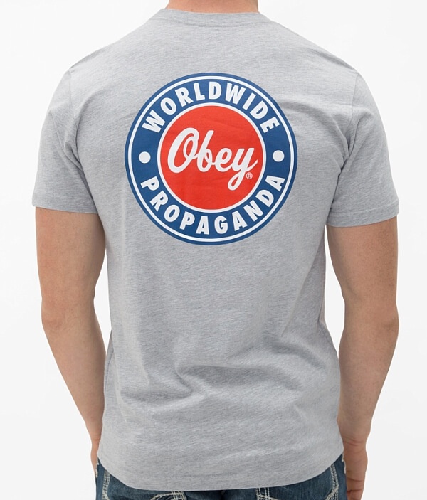 OBEY Hey OBEY T Day Hey Shirt x8wqx1TBO