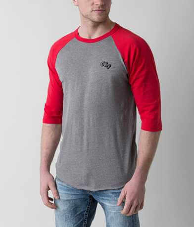 OBEY Oranje Script T-Shirt