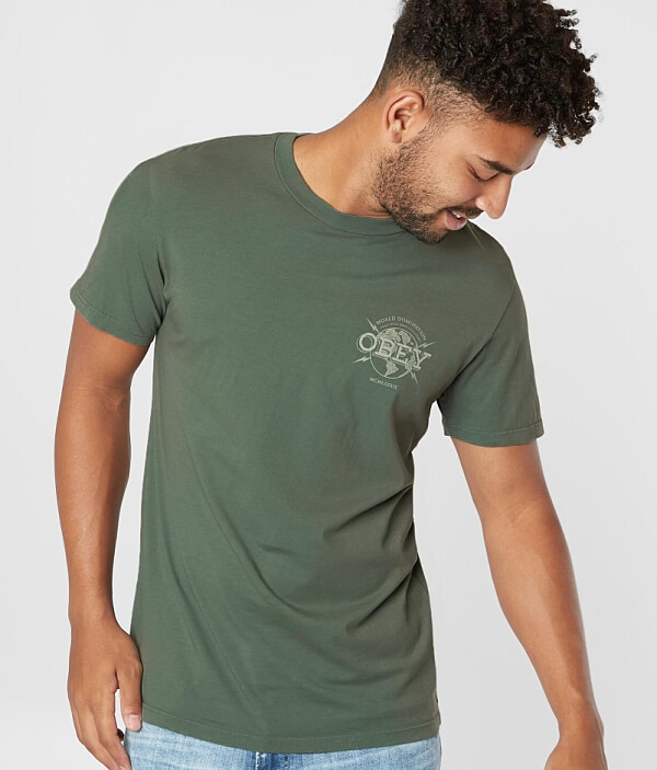 Shirt OBEY OBEY World Domination Shirt World Shirt Domination World T Domination OBEY World T T OBEY Domination T CnHO4Tx