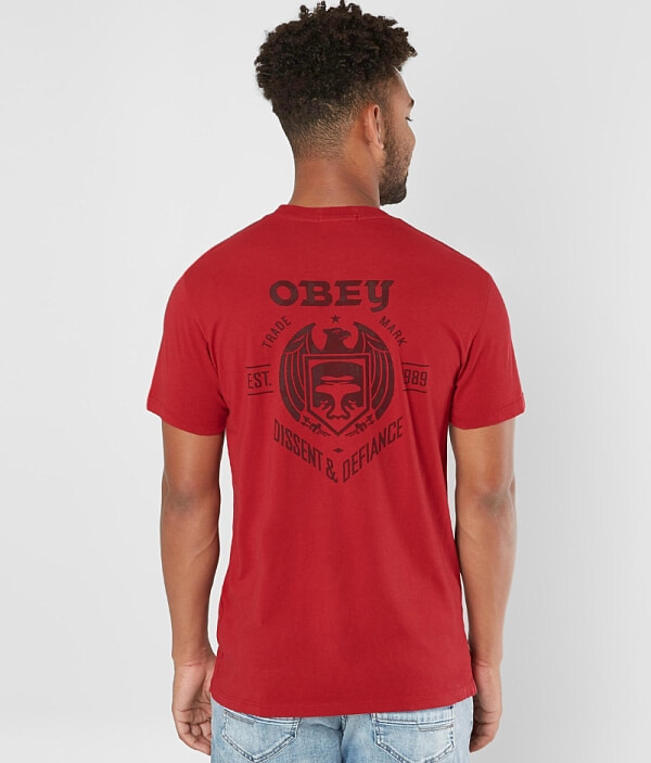 Dissent Shirt OBEY Dissent T OBEY T fPnfXBFWt