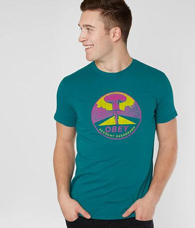 OBEY Mushroom Cloud T-Shirt