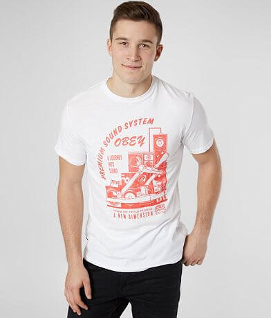 OBEY Soundsystem T-Shirt