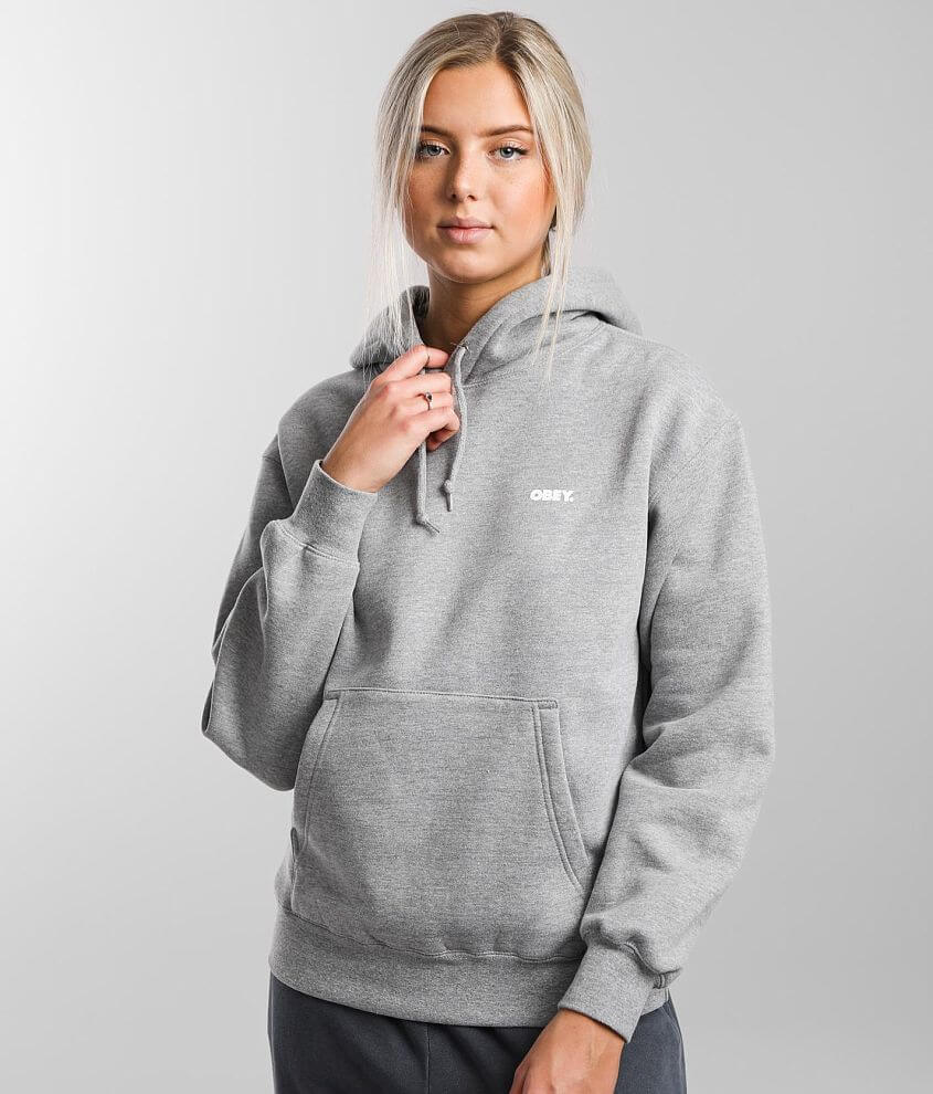 OBEY Statue Icon Hooded Sweatshirt front view