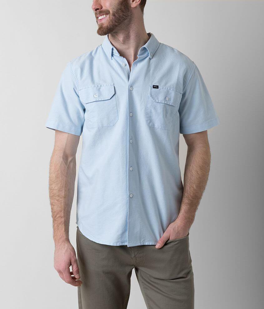 OBEY Banbury Shirt front view