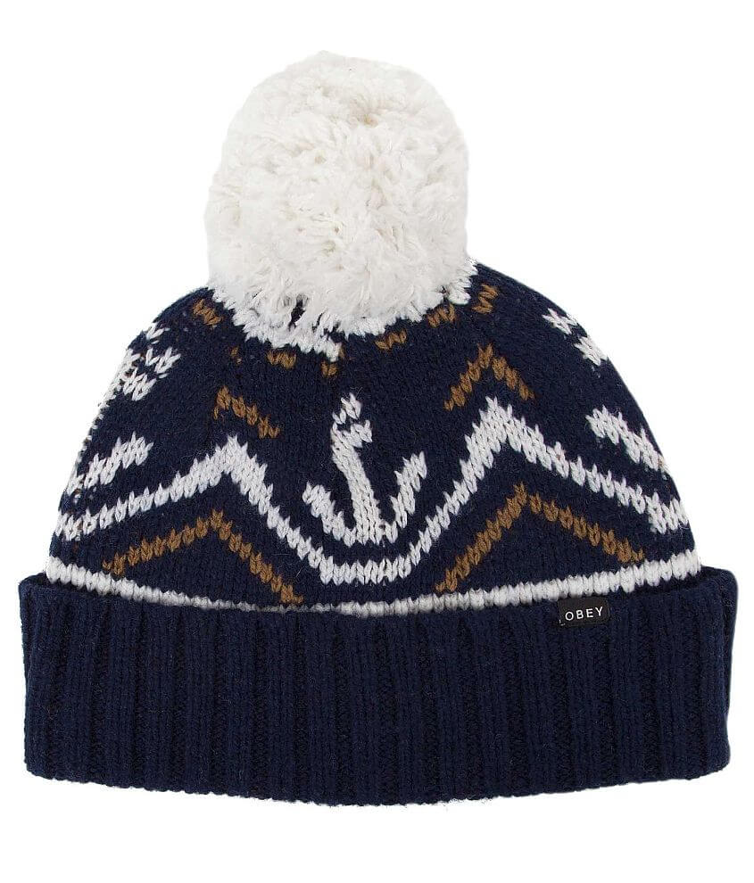 OBEY Alrik Beanie front view