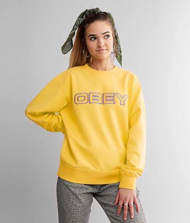 OBEY Blockside Crew Neck Sweatshirt