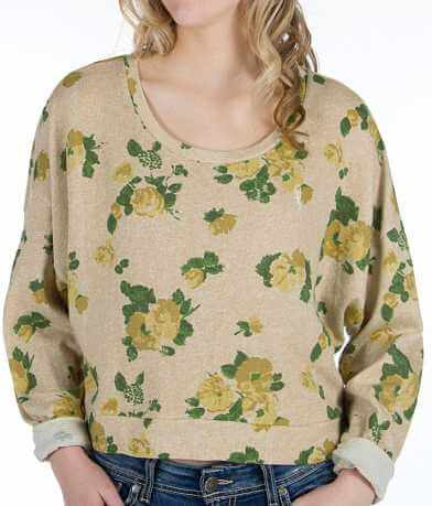OBEY Mellow Mood Cropped Sweatshirt
