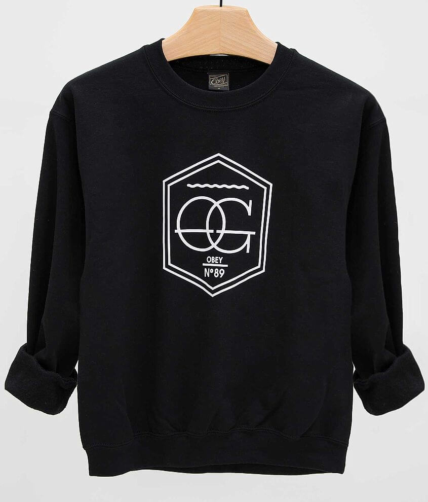 OBEY Wave Sweatshirt front view