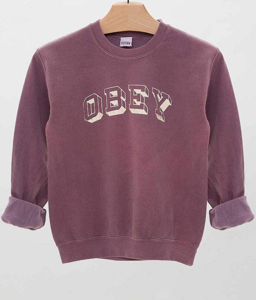 OBEY University Sweatshirt front view