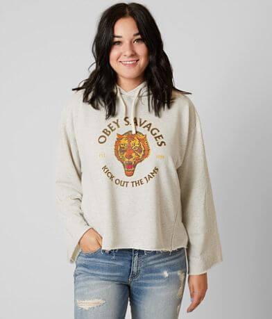 OBEY Tiger Savages Hooded Sweatshirt