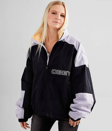 OBEY Burges Windbreaker Jacket