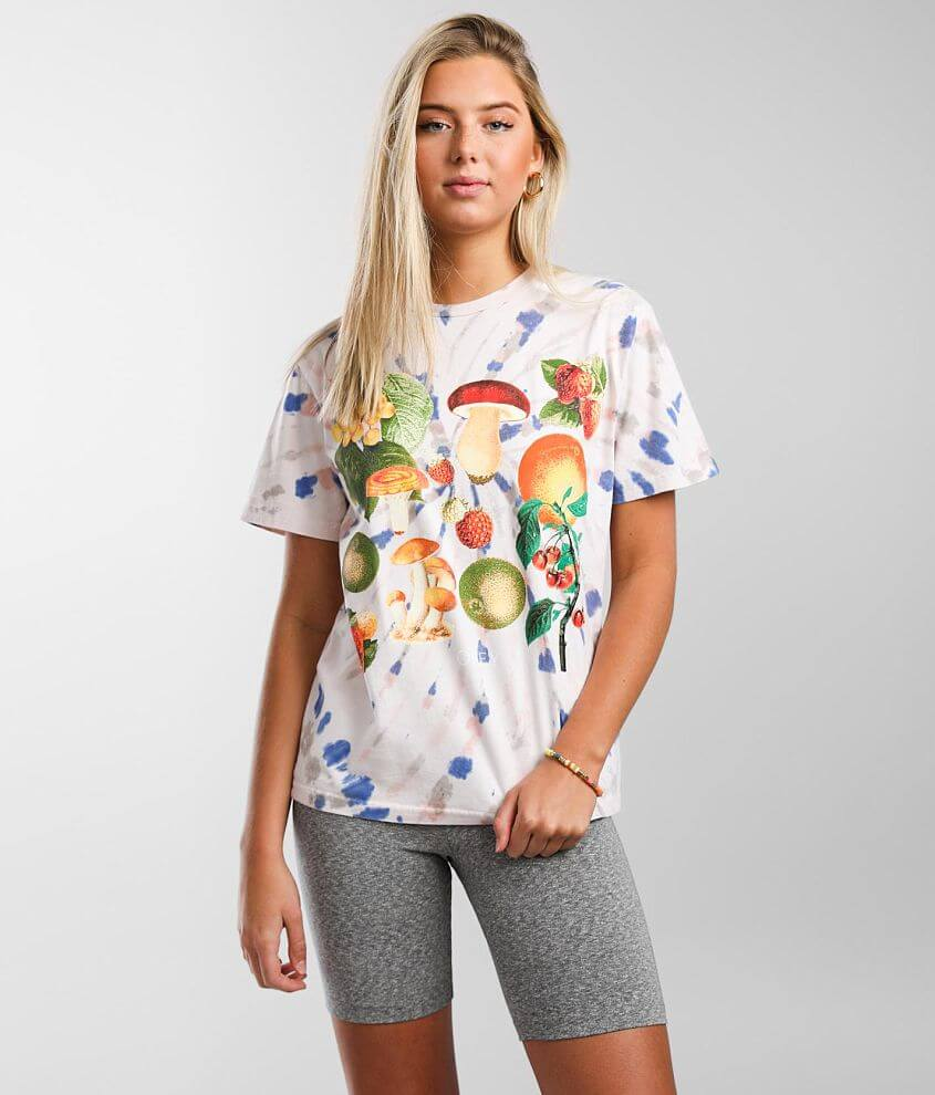 OBEY Mushroom Garden T-Shirt front view