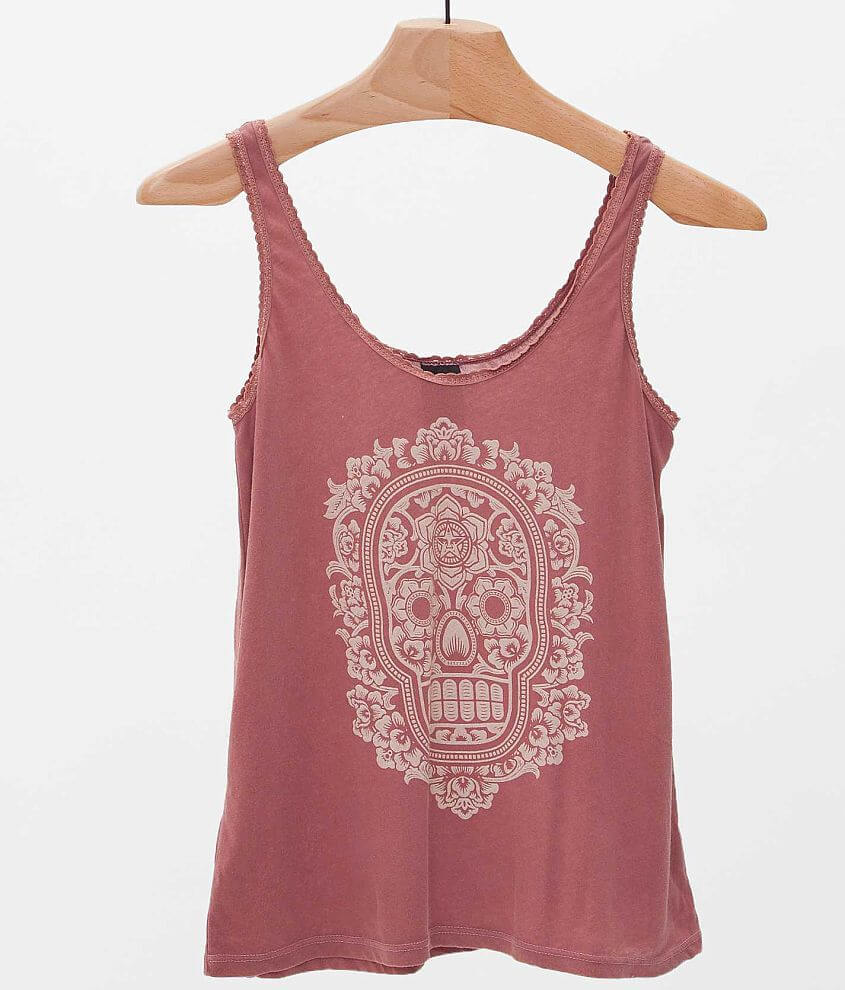 OBEY Day Of The Dead Tank Top front view