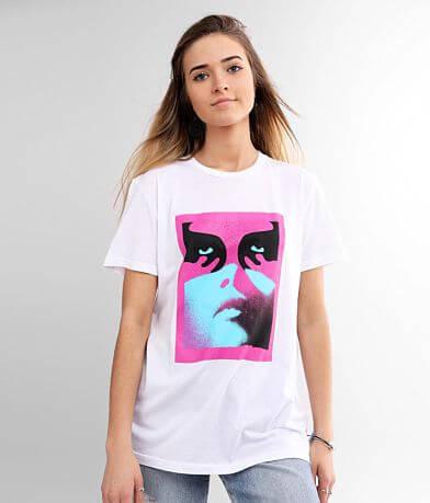 OBEY Noir Women T-Shirt