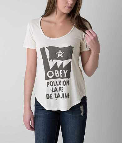 OBEY Pollution T-Shirt