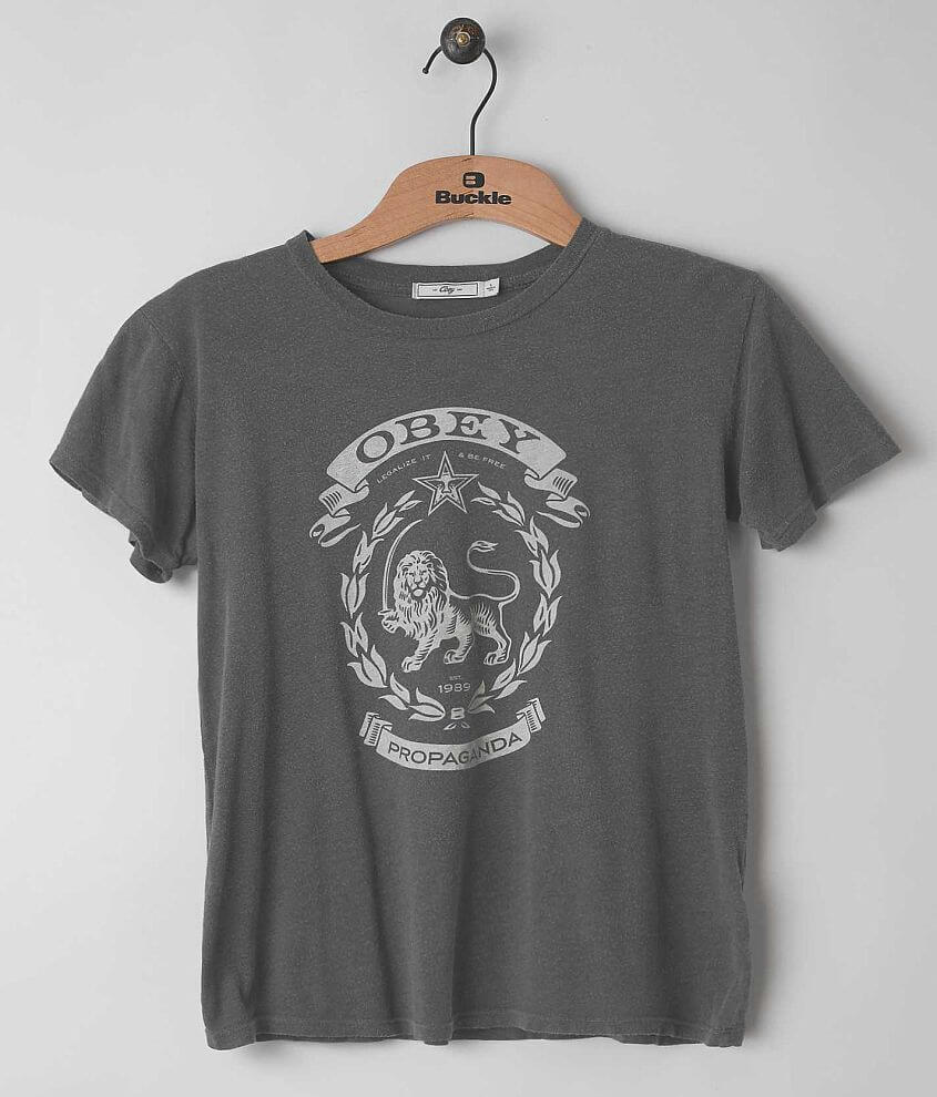 OBEY Legalize It T-Shirt front view
