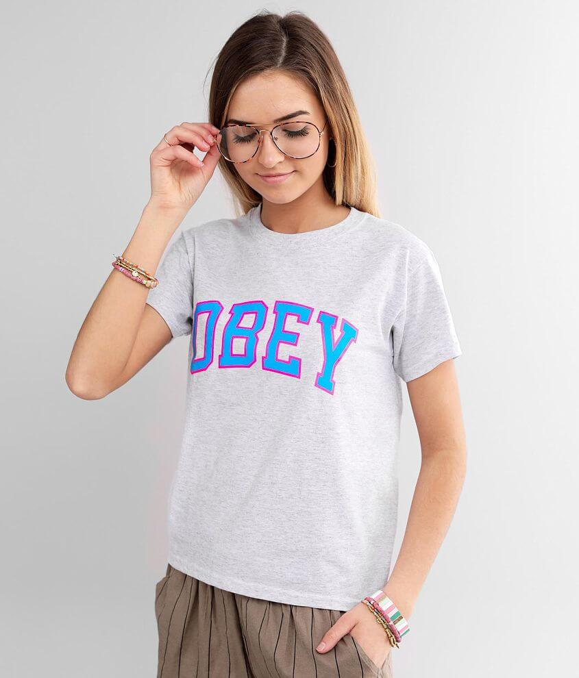OBEY Academic T-Shirt front view