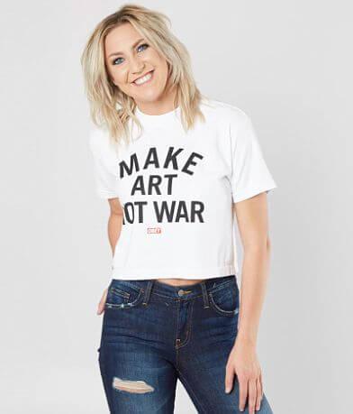 OBEY Make Art Not War T-Shirt