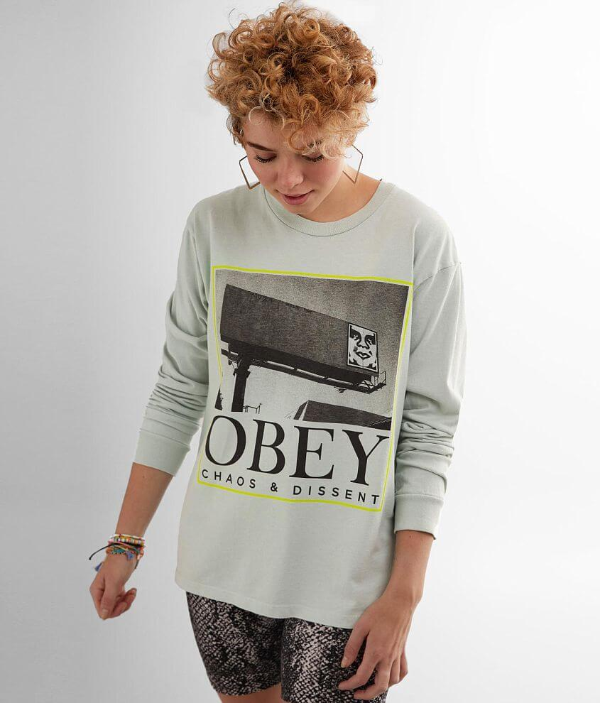 OBEY Chaos & Dissent T-Shirt front view