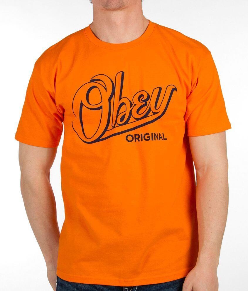 OBEY Encore T-Shirt front view