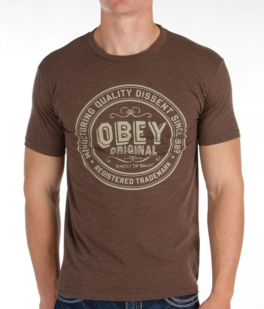 OBEY Strictly Top Quality T-Shirt front view