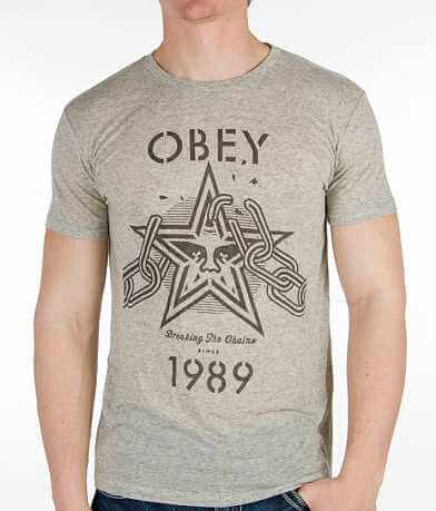 OBEY Breaking The Chain T-Shirt
