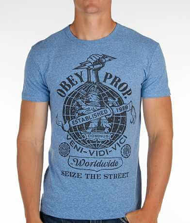 OBEY Globe Fist T-Shirt