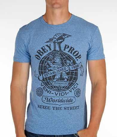 OBEY Globe Fist T-Shirt