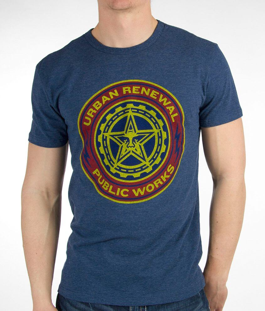 OBEY Public Works T-Shirt front view