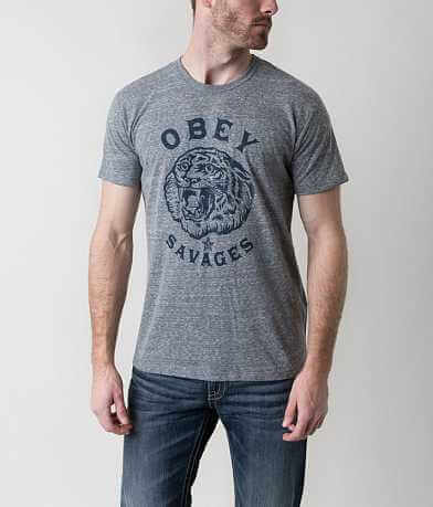 OBEY Tiger Savages T-Shirt