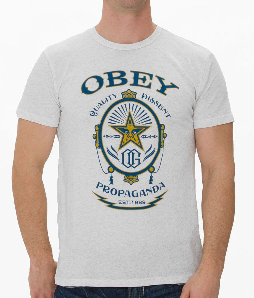 OBEY Chronic T-Shirt front view