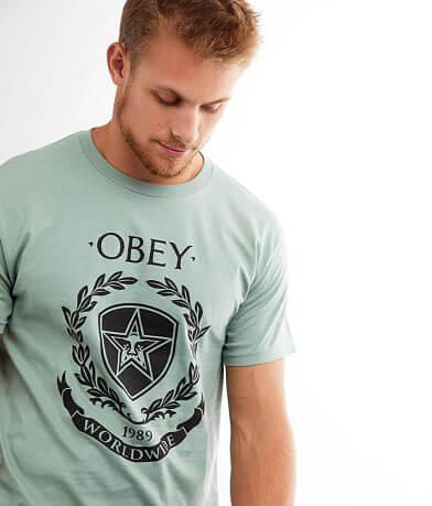 OBEY Shield & Wreath T-Shirt