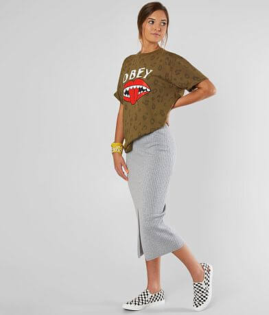 OBEY Lips All Over T-Shirt