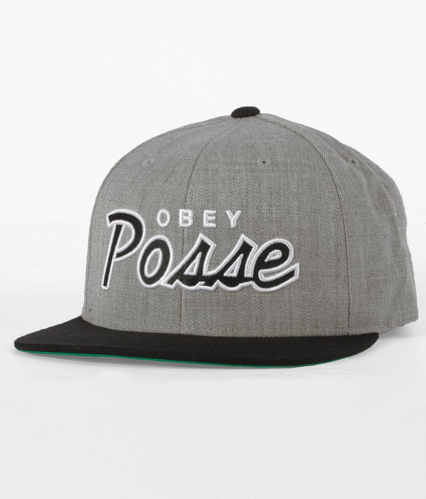 8b90bfa9b50 OBEY Posse Hat - Men s Hats in Heather Grey