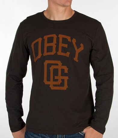 OBEY Gigantes Football T-Shirt