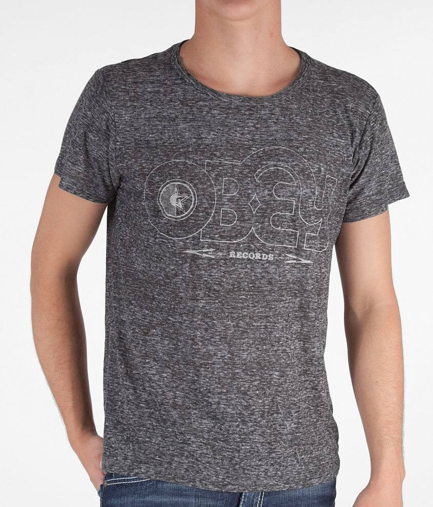 OBEY Voices Records T-Shirt front view