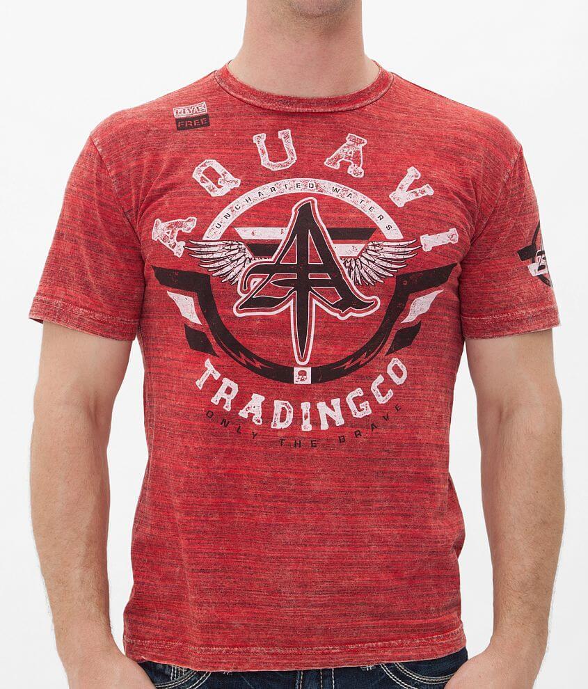 Aqua VI Bravity T-Shirt front view